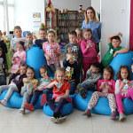 Zajęcia biblioteczne w Oddziale dla Dzieci
