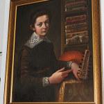 Portret Tomasza Zamoyskiego na tle ksiąg