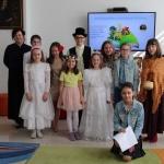 Przedstawienie w Oddziale dla Dzieci i Młodzieży